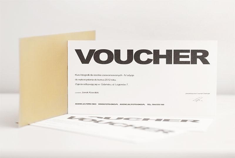 voucher na kurs fotografii jako prezent pod choinkę, na urodziny